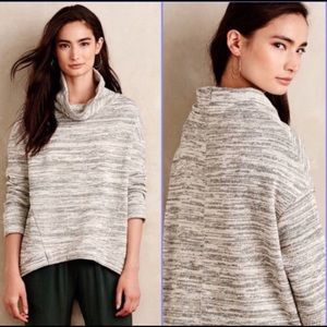 Anthropologie Saturday/Sunday Cowl-Neck Hoodie